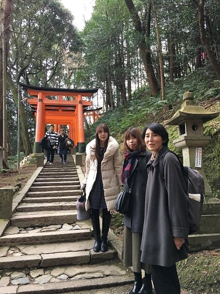 京都伏見稲荷神社 奥ノ院参拝