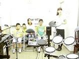 ドラムの演奏オーディション風景
