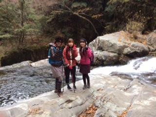 奈良県天川村洞川温泉みたらい渓谷